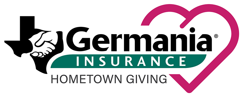 Germania Insurance's Hometown Giving Initiative logo.