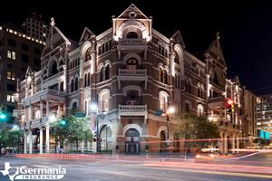 The Driskill hotel, one of the most haunted places in Texas