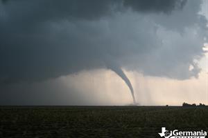 Tornado in tornado alley